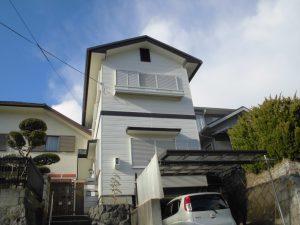 奈良県橿原市 シリコン塗料外壁塗装後1