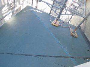 名張市 超軽量のスレート屋根の1階をリフォーム工事