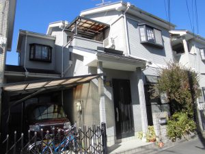 奈良県橿原市 スレート屋根とサイディング壁の調査