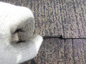 奈良県橿原市 縁切り部材タスペーサーを入れる2