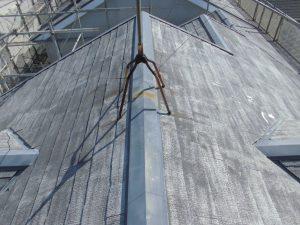 奈良県橿原市 屋根外壁塗装前の洗浄後1