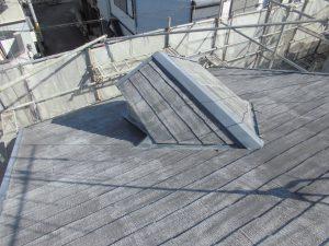 奈良県橿原市 屋根外壁塗装前の洗浄後2