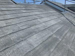 奈良県橿原市 屋根外壁塗装前の洗浄後3