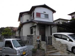 【雨漏り修理・外壁修理】三重県名張市S様邸 雨漏り修理工事
