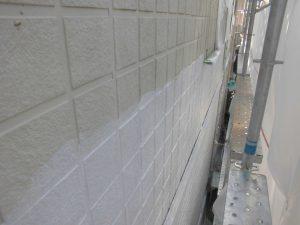 三重県名張市 外壁下塗り塗装2
