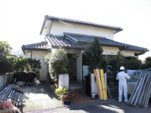 【外壁塗装・外壁修理】奈良県宇陀市Y様邸 外壁塗り替え工事の詳細です。