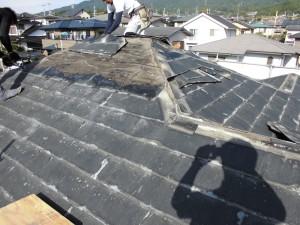 【屋根工事・屋根リフォーム・屋根修理】奈良県宇陀市S様邸  屋根の葺き替え工事の詳細です。