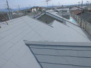 奈良県橿原市 屋根にガイナ塗装5