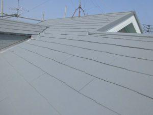 奈良県橿原市 屋根にガイナ塗装4