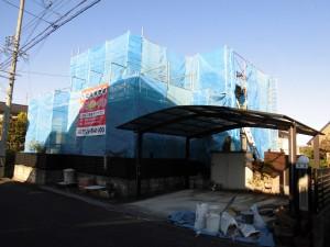 【屋根工事・雨樋交換・外壁塗装】三重県名張市S様邸 足場、屋根の漆喰塗り替え工事