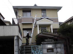 名張市 築20年以上のスレート屋根とドーマー(換気口)の調査