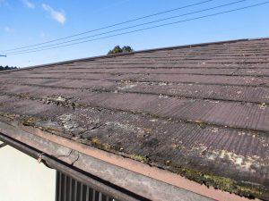 奈良県、,三重県限定 屋根塗装して数年で塗膜剥離