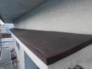 【庇の塗装,鉄部塗装】三重県名張市H様邸 庇の塗り替え工事