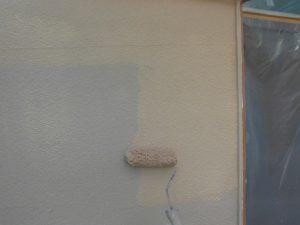 北葛城郡河合町  高耐久シリコン塗料をモルタル外壁塗装