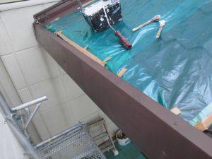 【外壁塗装,外壁塗り替え,鉄部塗装】奈良県橿原市I様邸 板金や鉄部の塗装