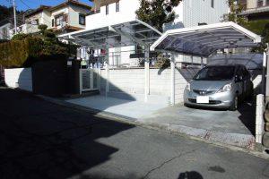 【駐車場増設工事】奈良県宇陀市W様邸 駐車場を1台から2台置けるように広げる工事
