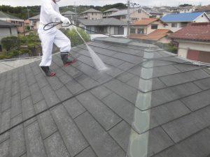 奈良県宇陀市S様 屋根洗浄