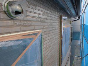 奈良県橿原市H様 外壁塗装下塗り塗装2