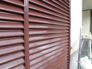 奈良県宇陀市 雨戸塗装完了2