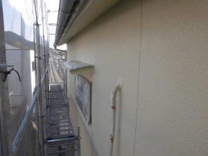 奈良県宇陀市I様 モルタル外壁にエスケープレミアムシリコンを上塗り2