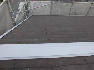 奈良県橿原市 屋根板金の錆び止め塗装3