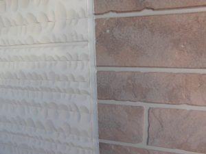 奈良県橿原市 サイディング外壁の目地にシーリング材の完成2