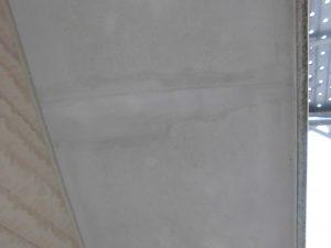 奈良県橿原市 軒天の継ぎ目をパテで埋める3
