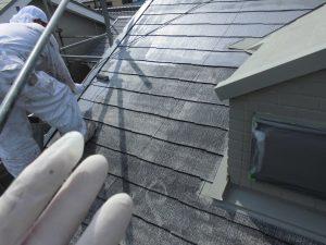 奈良県橿原市 省エネ大賞遮熱で涼しいガイナを屋根塗装