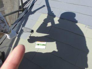 奈良県橿原市N様 ガイナ塗装2回目2