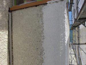 名張市 外壁に下塗り塗装6