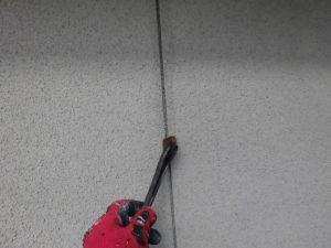 奈良県宇陀市 外壁に30年以上持つシーリング材で修理