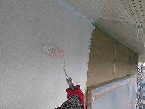 奈良県宇陀市N様外壁塗装の下塗り1