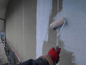 奈良県宇陀市N様外壁塗装の下塗り2