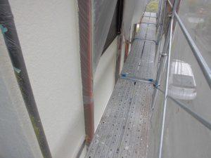 名張市 外壁塗装 上塗り1