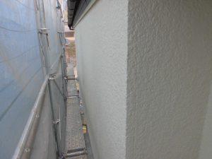名張市 外壁塗装 上塗り2