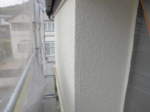 名張市 外壁塗装 上塗り4