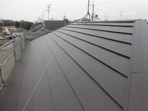 屋根の完成写真