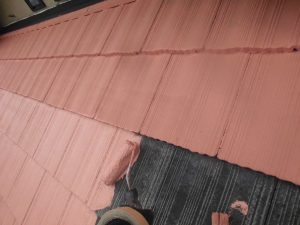 奈良県桜井市 屋根瓦塗装