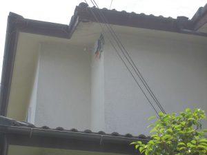 名張市 屋根瓦雨漏り調査1