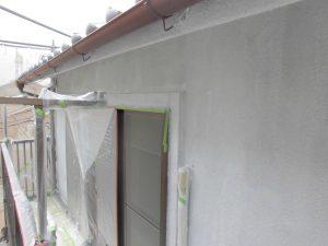 奈良県橿原市 外壁下塗り塗装2