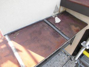 【雨漏り修理,屋根修理】三重県名張市H様邸 屋根庇の修理・交換工事