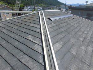 奈良県宇陀市 屋根の棟の下地2
