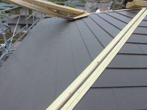 奈良県宇陀市 ガルバリウム鋼板を屋根カバー工法4