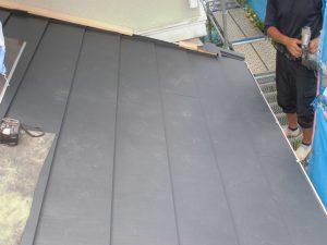 奈良県宇陀市 ガルバリウム鋼板屋根工事1