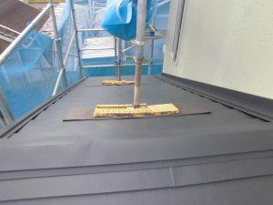 奈良県宇陀市 ガルバリウム鋼板屋根工事3