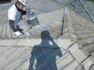 奈良県宇陀市 長持ちさせる下塗り材で屋根塗装リフォーム