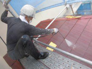 奈良県橿原市Y様 屋根高圧洗浄
