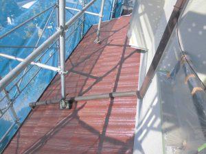 奈良県橿原市Y様屋根下塗り塗装3