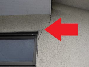 奈良県宇陀市T様 外壁ひび割れ3