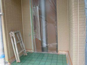 【外壁塗装,外壁修理】奈良県宇陀市S様邸 外壁塗り替え 下塗り塗装(1回目)